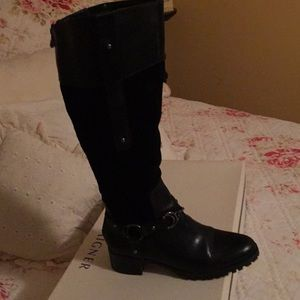 Etienne Aigner boots. Beautiful boots.